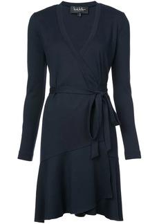 Nicole Miller short wrap dress