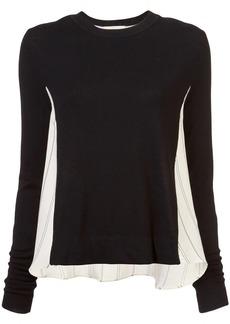 Nicole Miller departure stripe sweater