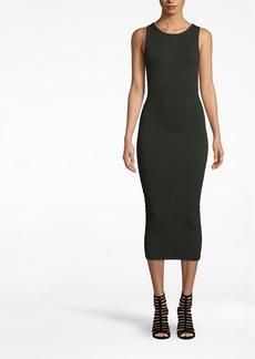 Nicole Miller Smocked Knit Dress