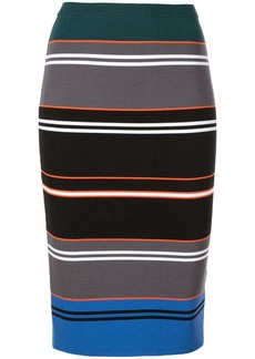 Nicole Miller striped knit pencil skirt