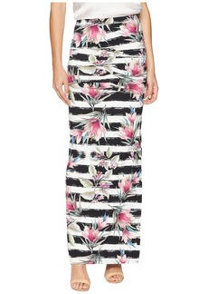 Nicole Miller Tidal Pleat Maxi Skirt
