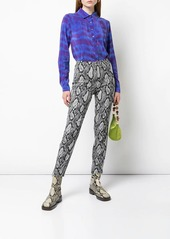 Nicole Miller tie-dye blouse