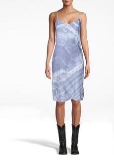 Nicole Miller Tie Dye Slip Dress