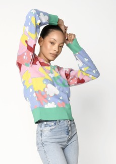 Nicole Miller Universal Love Crew Neck Sweater