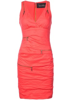 Nicole Miller zipped fitted short dress