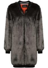 Nicole Miller zipped-up coat