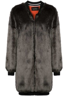 Nicole Miller zipped-up coat