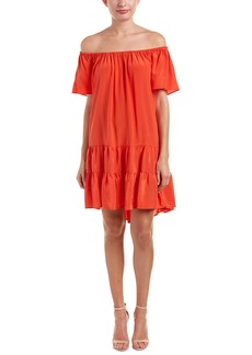 Nieves Lavi Silk Shift Dress