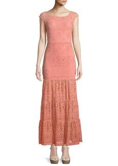 Nightcap Cherry Blossom Positano Maxi Dress