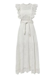 Nightcap Eyelet Apron Dress