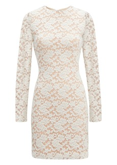 Nightcap Ivory Sweater Lace Dress