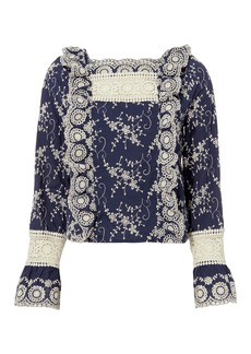 Nightcap Clementine Embroidered Blouse