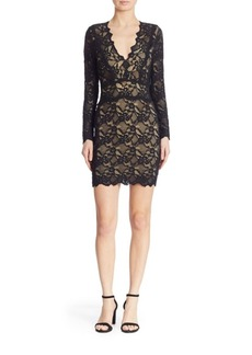 Nightcap Clothing Debut Lace Mini Dress