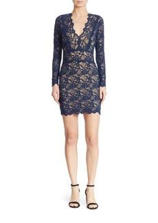 Nightcap Clothing Debut Lace Mini Dress