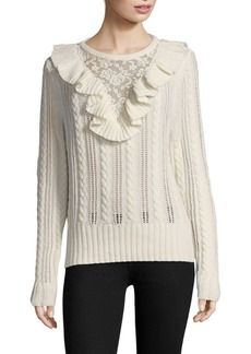 Nightcap Lace Inset Sweater
