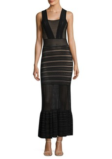 Nightcap Martini Sheer Banded Gown