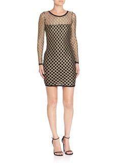 Nightcap Clothing Pyrite Cutout Sheath Dress