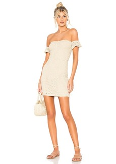 Nightcap Crochet Flutter Dress