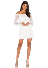 Nightcap Dentelle Off Shoulder Dress