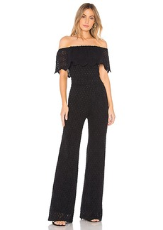Nightcap Diamond Lace Positano Jumpsuit