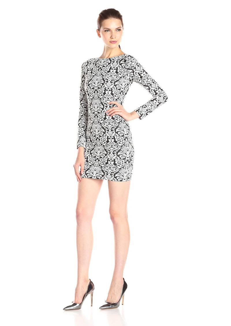 Nightcap Women's Jacquard Mini Dress