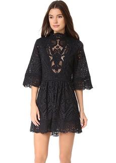 Nightcap x Carisa Rene Victorian Embroidered Mini Dress