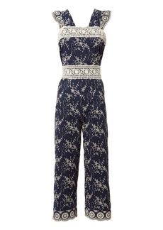 Nightcap Olive Embroidered Jumpsuit