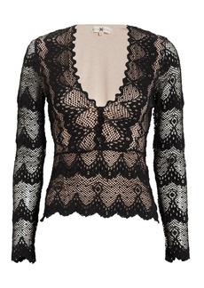 Nightcap Stretch Lace Top