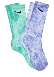 Nike 2 Pack Everyday Plus Crew Socks