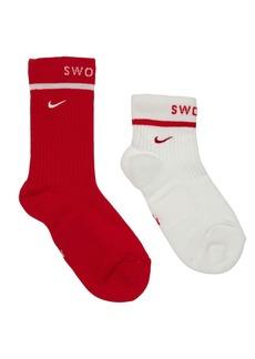 Nike 2 Pack Sneaker Crew Socks