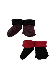 Nike 2-Pair Pack Marled Knit Booties (Infant)