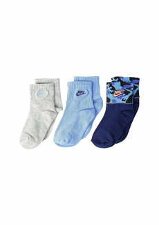 Nike 3-Pack Camo Gripper Ankle (Infant/Toddler)