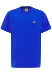 Nike Acg Embroidery Cotton T-shirt