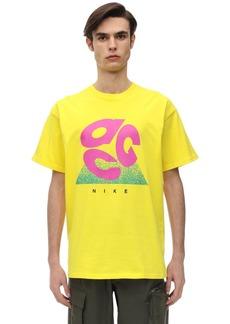Nike Acg Logo Evo Cotton Jersey T-shirt