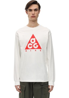Nike Acg Logo Jersey L/s T-shirt