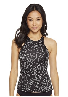 Nike Adjustable High Neck Tankini