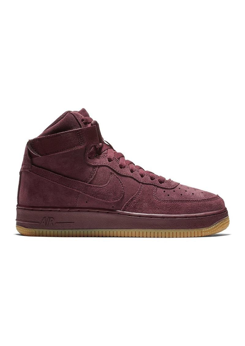 Nike Air Force 1 Suede High Top Sneaker (Big Boys)