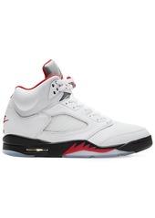 Nike Air Jordan 5 Retro Silver Tongue Sneaker