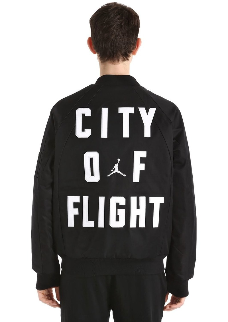 118e94185b61 Nike Air Jordan Wings Ma-1 Bomber Jacket
