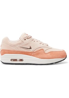 Nike Air Max 1 Two-tone Suede Sneakers
