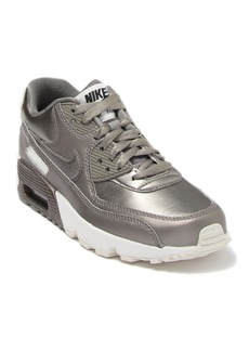 Nike Air Max 90 Leather Sneaker (Big Kid)