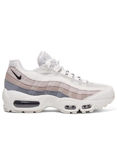 Nike Air Max 95 Suede, Mesh And Leather Sneakers