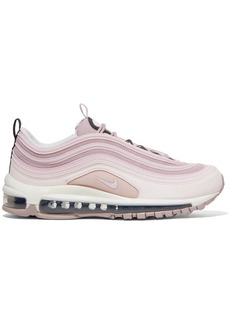 Nike Air Max 97 Leather And Mesh Sneakers