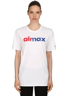 Nike Air Max Cotton Jersey T-shirt