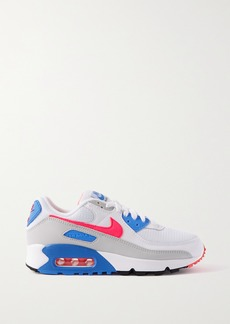Nike Air Max Iii Mesh Suede And Leather Sneakers