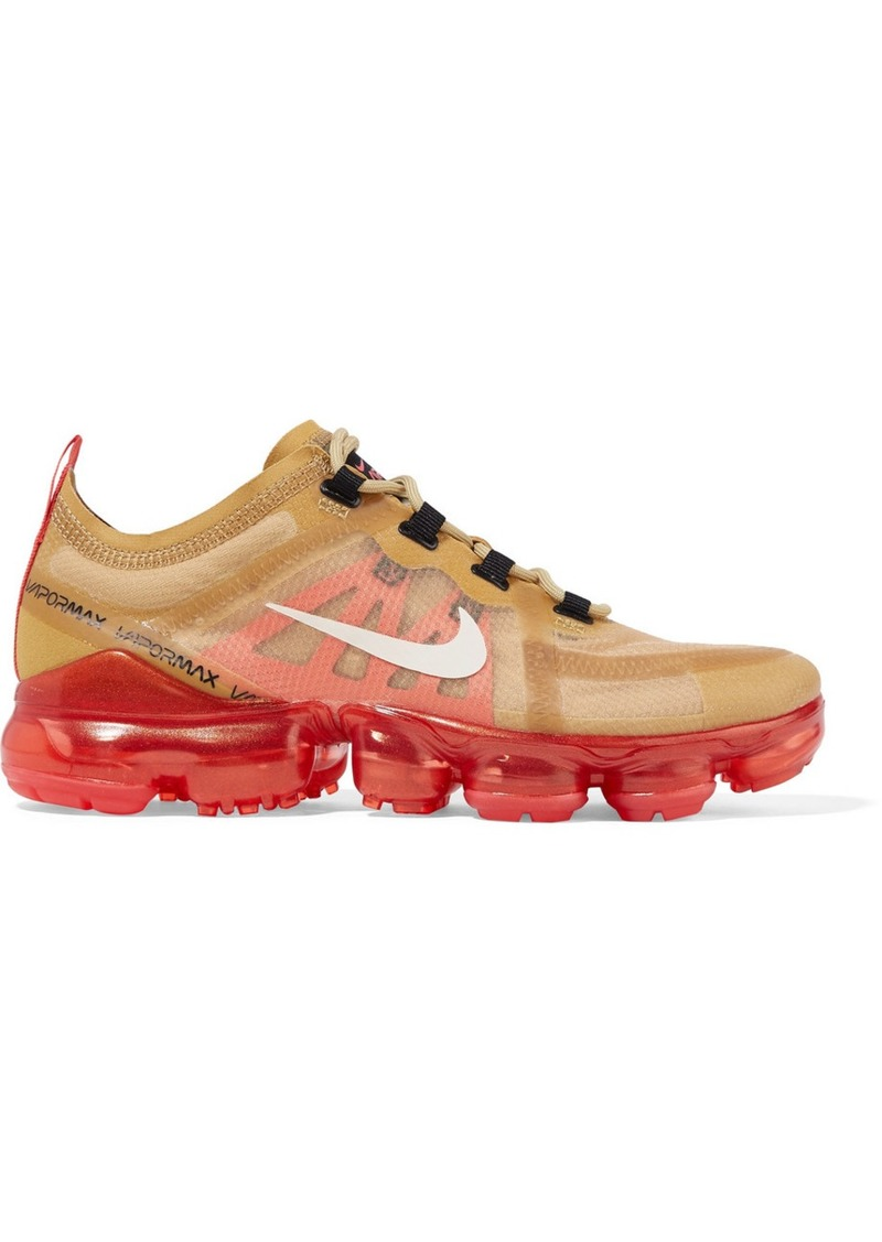 Nike Air Vapormax 2019 Ripstop And Mesh Sneakers
