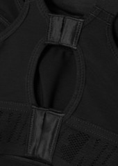 Nike Alpha Ultrabreathe Mesh And Dri-fit Sports Bra