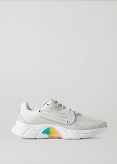 Nike Alphina 5000 Rubber And Pvc-trimmed Mesh Sneakers