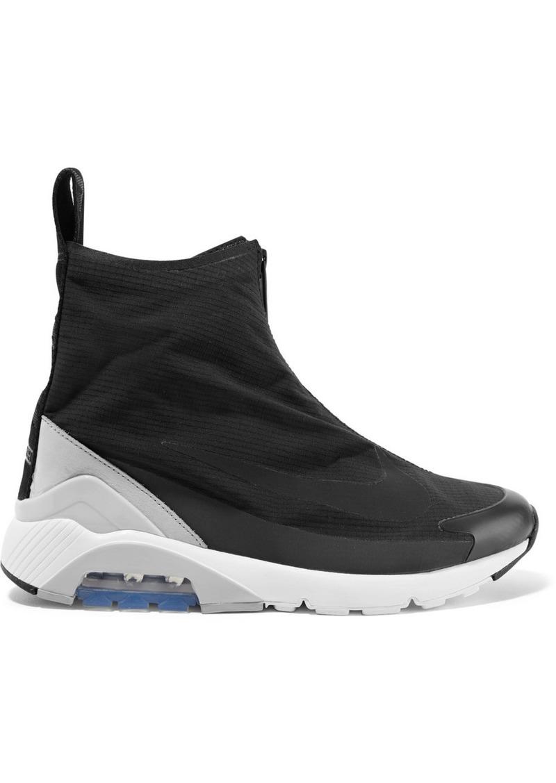 Nike Ambush Air Max 180 Hi Suede-trimmed Ripstop Sneakers