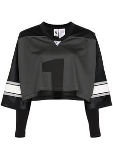 Nike American football cropped top